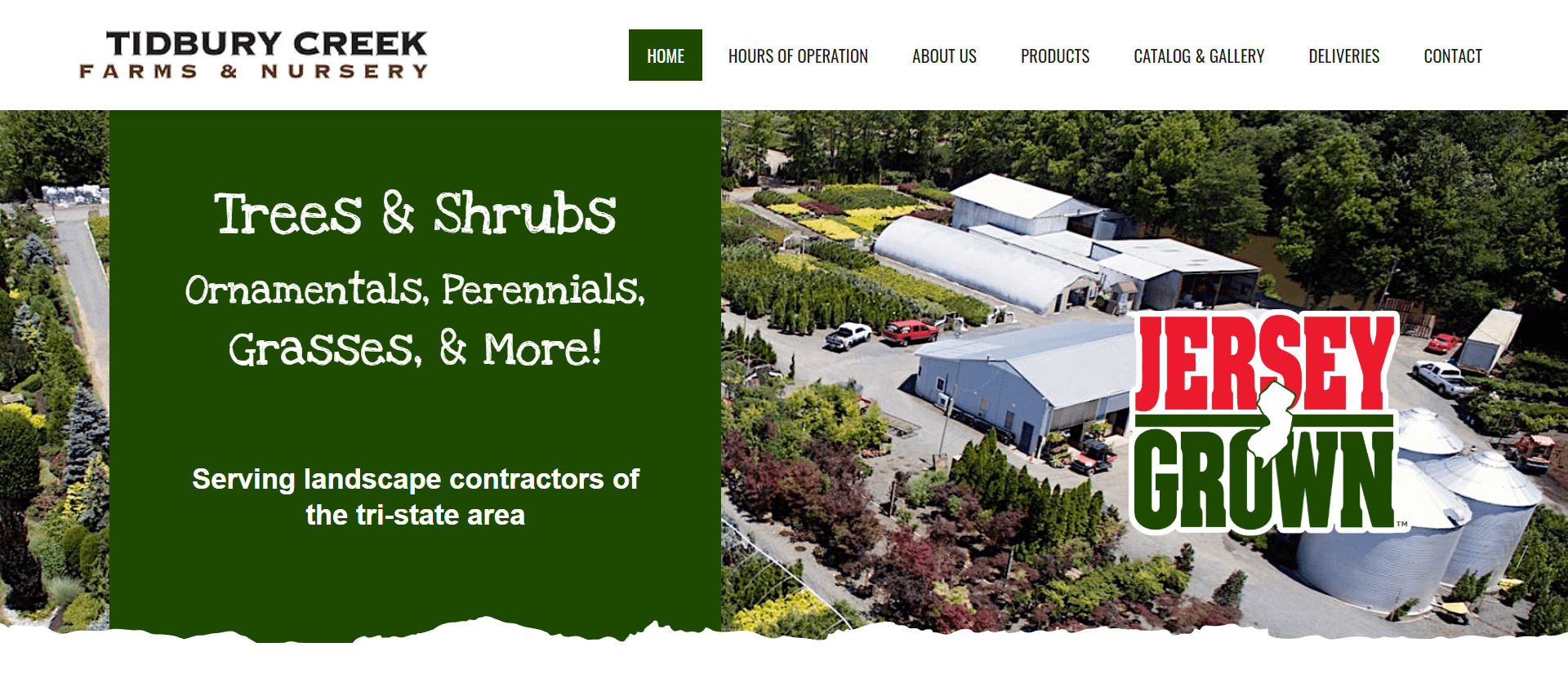 Tidbury Creek Farms website by Jesse The Web Guy