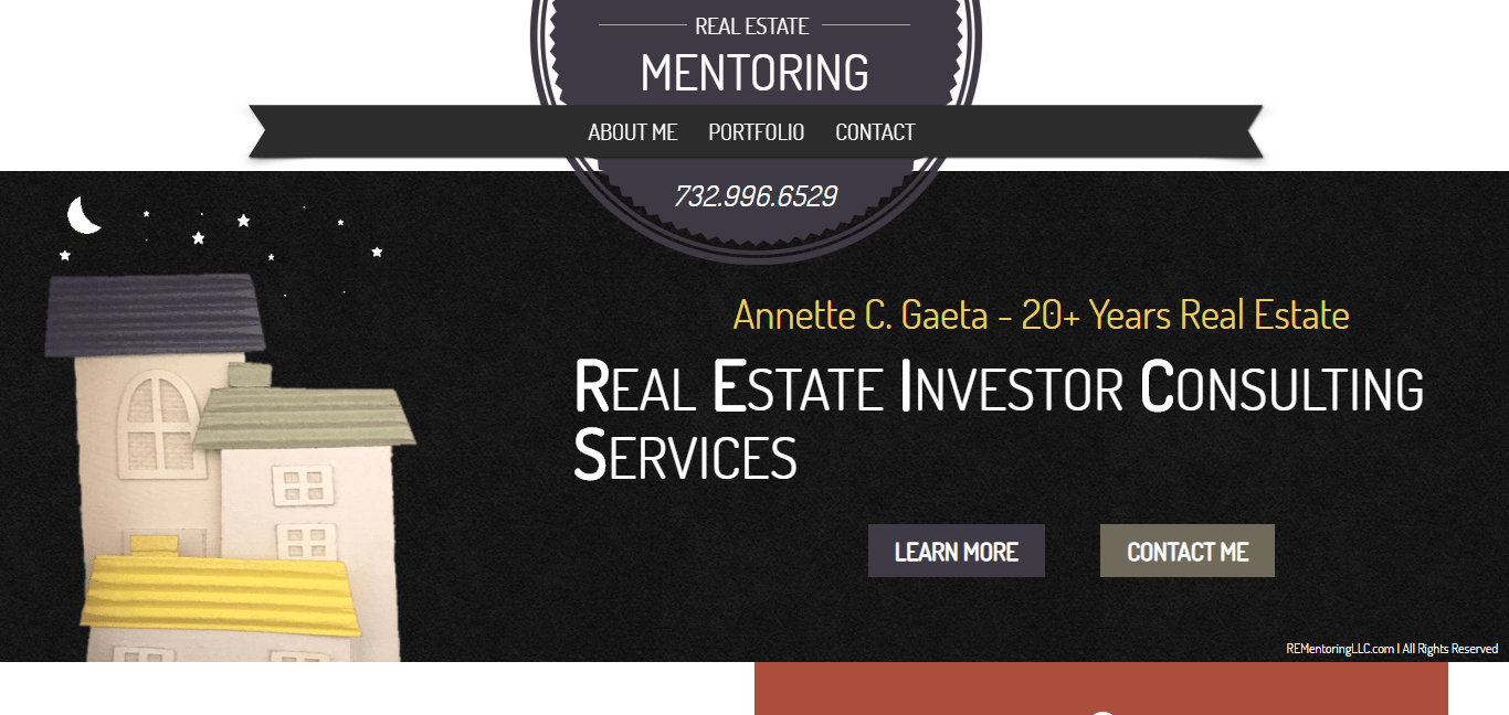 RE Mentoring website by Jesse The Web Guy